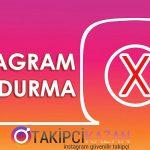 instagram hesap dondurma-silme