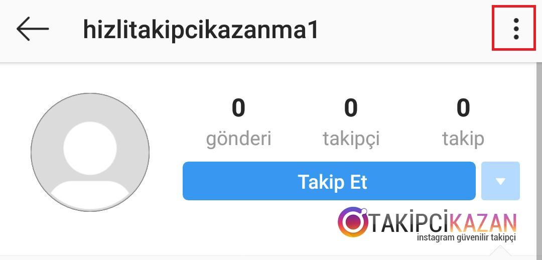 instagram profil engelleme