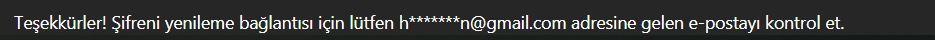 instagram e-postamı unuttum şifre değiştirme