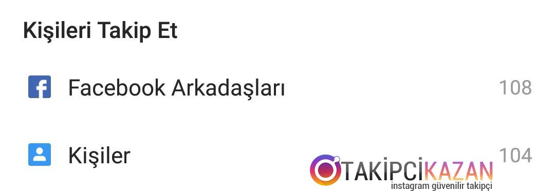 instagram kişi önerilerini engelleme