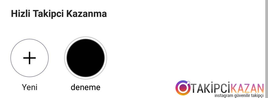 instagram hikayeleri profile sabitleme
