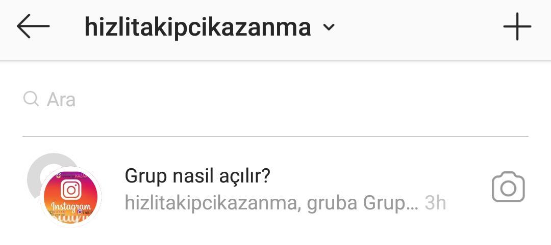 instagram dm anket oluşturma