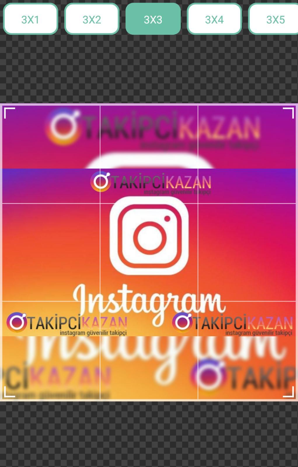 instagram parçalanmış fotoğraf paylaşmak